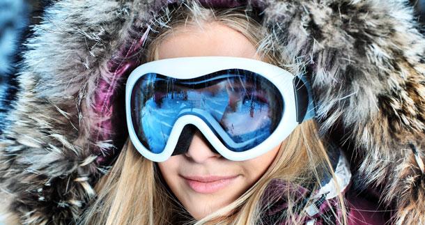 Ski et lunettes de vue